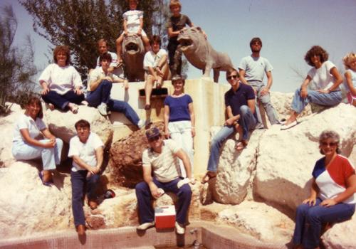 Abqaiq Lion Park, August 1985
