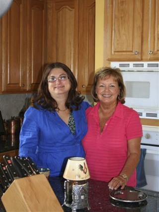 Janell Reyenga and Sheila Stevens