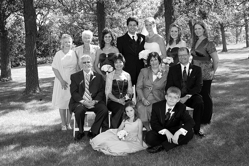 Stephanie and Sean's Families