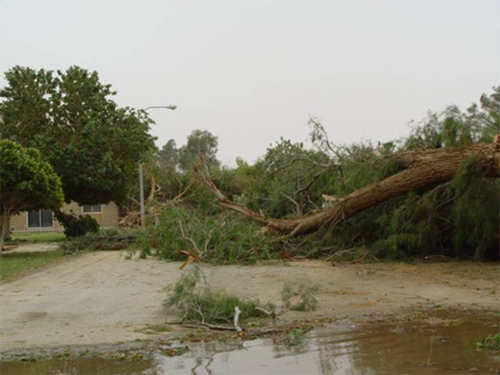 Abqaiq Storm Damage (3)