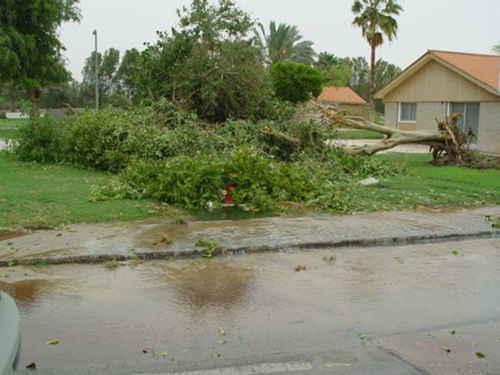 Abqaiq Storm Damage (5)