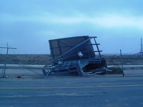 Abqaiq Storm Damage (11)