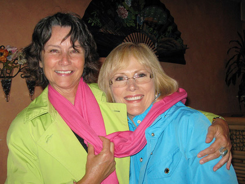 Jane Hawkey and Cindy Kriesmer Carr