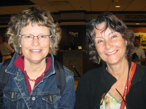 Linda and Jane Hawkey