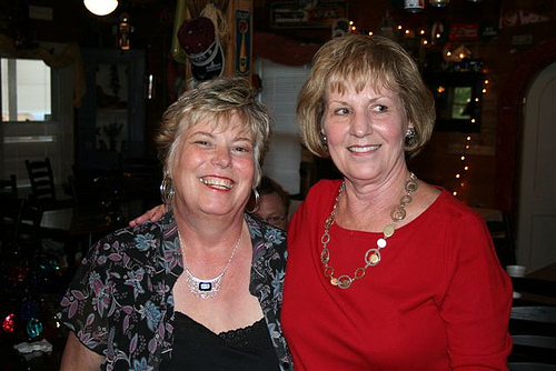 Diane Yount and Aline Erwin, also of Abqaiq