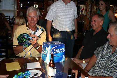 Ken Opens 60 Item Gift