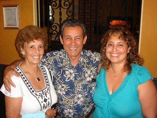 Elsa, Linda, and Hernando Hernandez