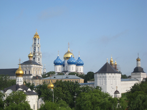 St Sergius Monastery and Red Square