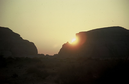 Mada'in Saleh Sunrise