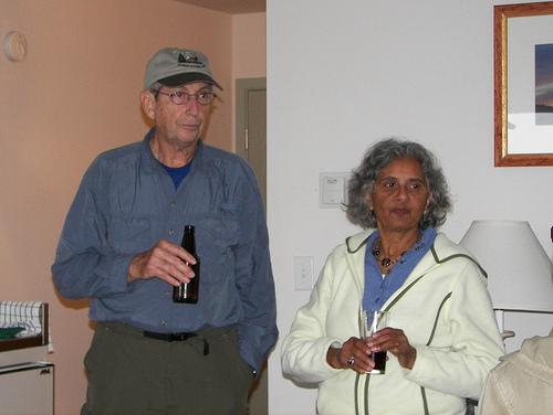 Bill Klingman & Arati Desai