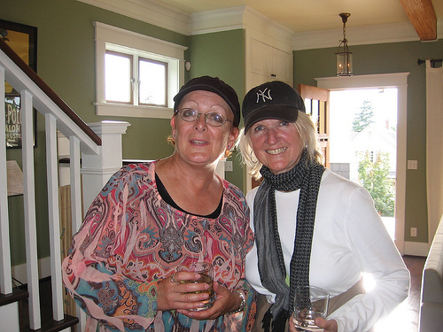 Valerie Perry and Jeannie Ives