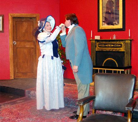 Lady Bracknell and Algernon