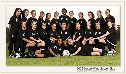 2009 Desert Wind Soccer Club