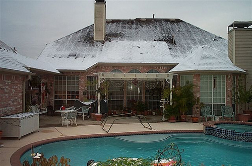 2004 Snow in Houston