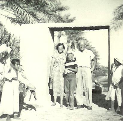 Season's Greetings from Saudi, circa 1954