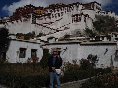 Lou Spencer in Tibet