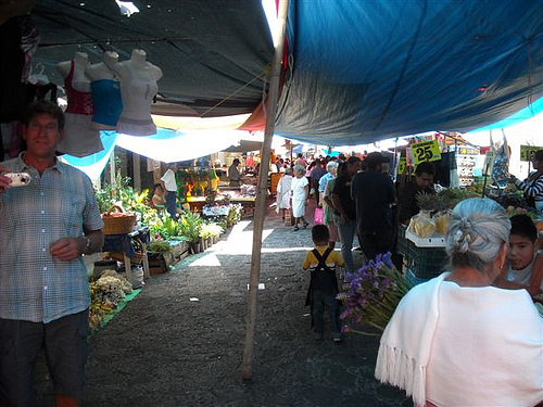Tepotzlan Market on Sunday