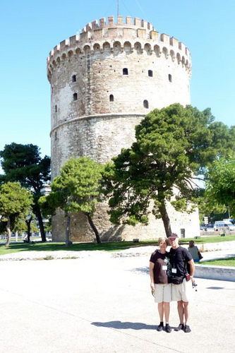 The White Tower at Thessoloniki