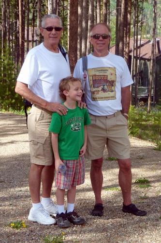 Bill Jesson, POP, and Drew