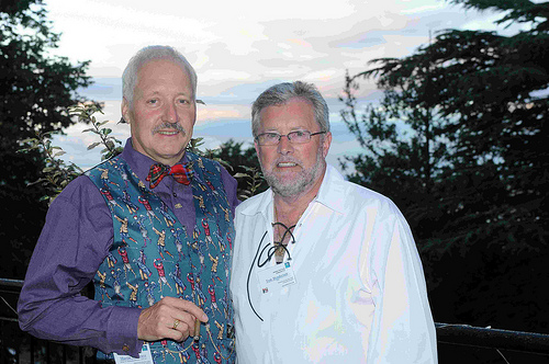 Martin Wingrove and Tom Henderson