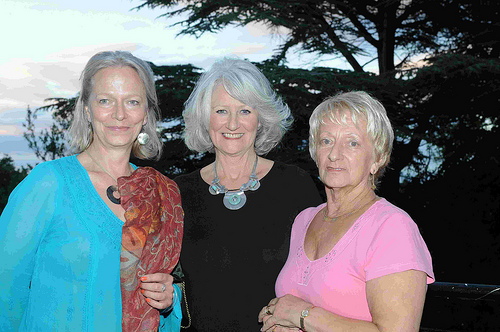 Fiona Digby-Ovens, Shona More, and Eileen Henderson