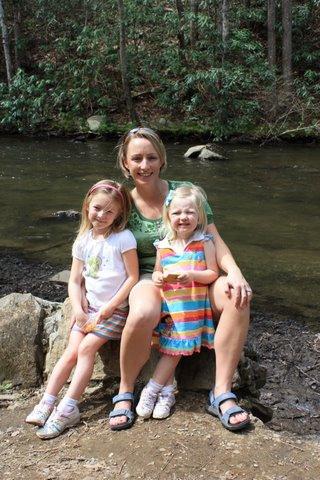 Sarah, Kristl, and Leah