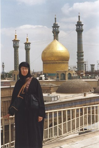 Audrey in Iran
