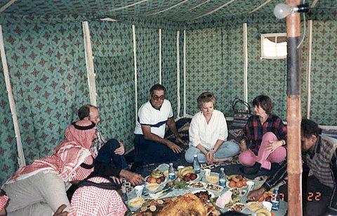 Dinner in the Desert