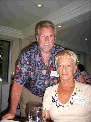 Tom Henderson (Host) and Eileen Henderson (Hostess)