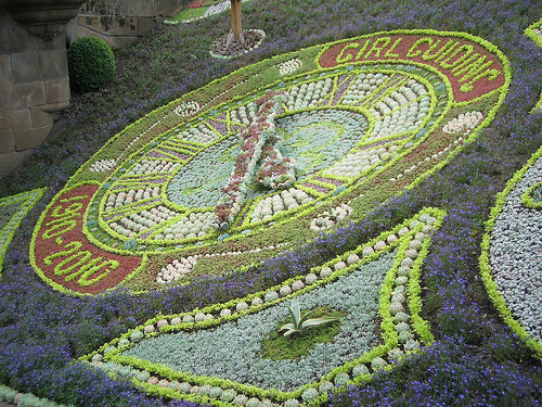 Floral Clock in Princes Gardens