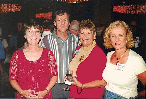 Kathy & Pat Laabs, _____, and Bonnie Clark
