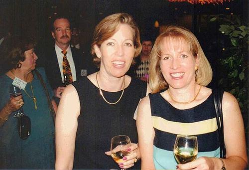Julie Doody and K-K Hannusch (Johansson girls)