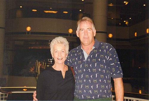 Sally Aslan and Ray Stevens