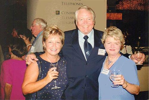 Sheila Stevens and Lawton & Barbara Hutchison