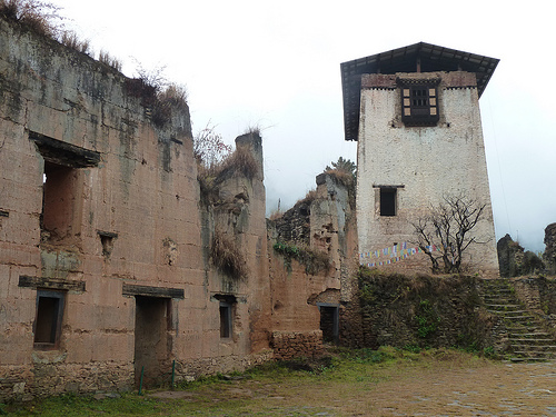 Ancient Fortress in Paro