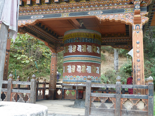 Really big prayer wheel!