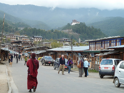 Downtown Bumthang