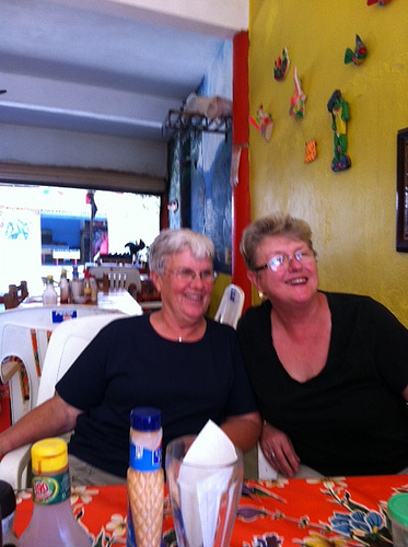 Donna Johnson and Ginny Griffith