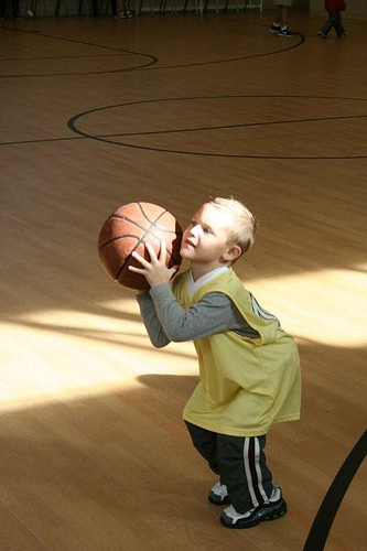 Hoops with the Grandkids (5)