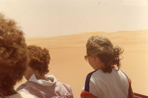 Hot Wind in Rub Al Khali