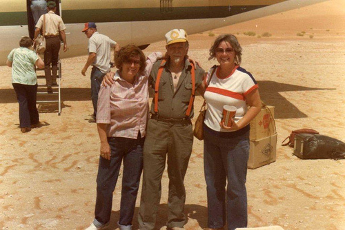 Mary Roth, Rig Foreman, and Sheila Stevens