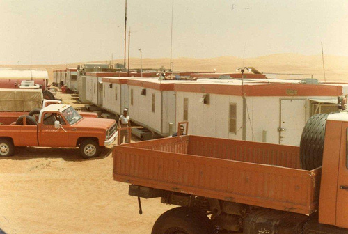Housing at the Drilling Rig