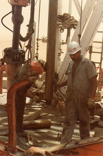 Aramco Drilling Rig Workers
