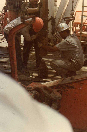 Lining Up Drill Pipe