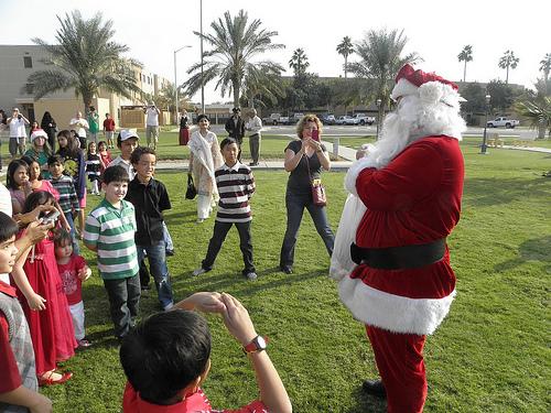 Santa Arrives on a Camel (4)