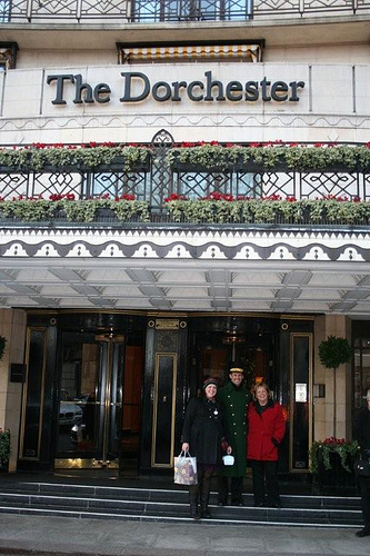 London Tea at the Dorchester