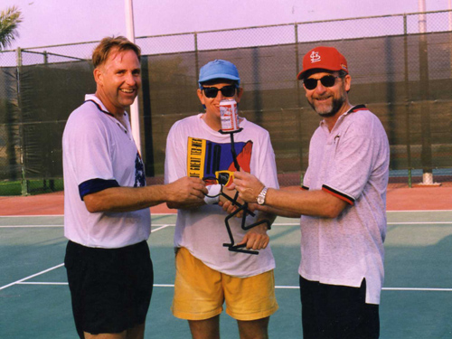 Tennis in Bahrain - August 1995