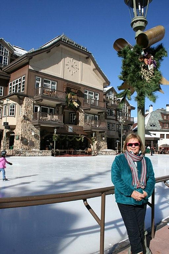 Sheila at the Ice Rink