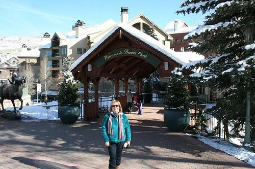 Sheila Stevens in Beaver Creek