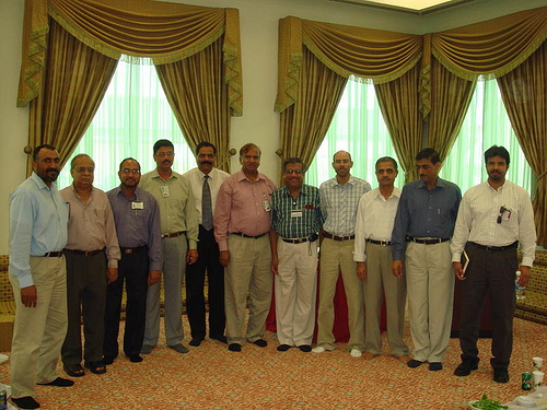 Iqbal Khan's Retirement Party at Juaymah Dinner